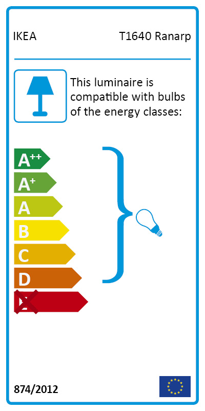 Energy Label Of: 10390961