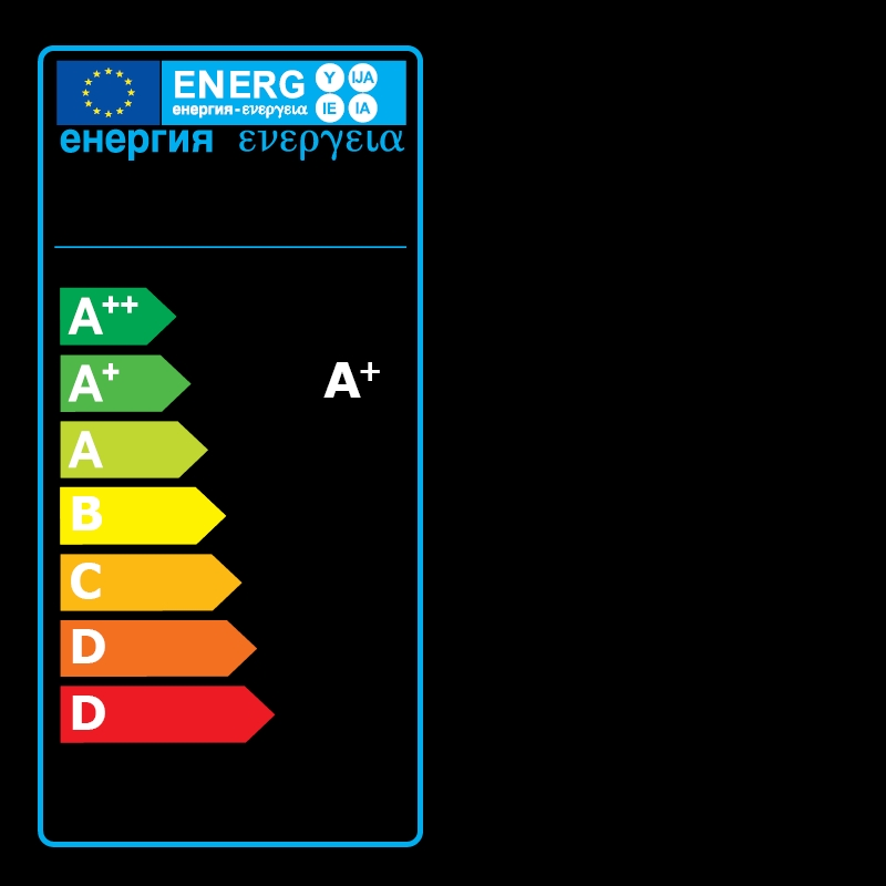 Energy Label Of: 60365271